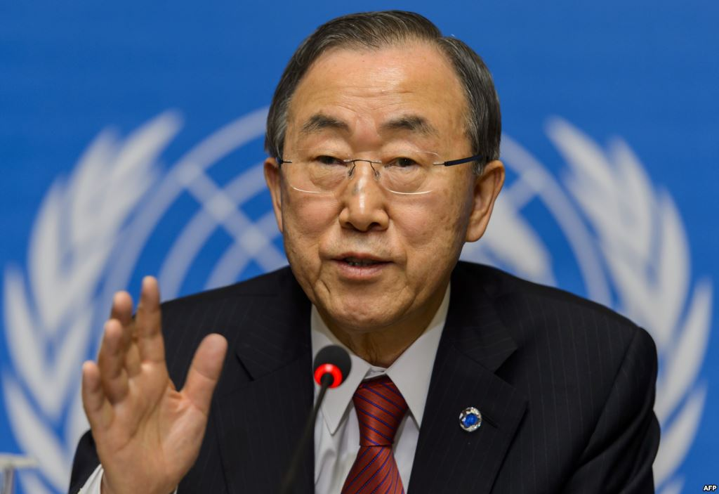 Ban Ki-moon earned a 0.22 million dollar salary - leaving the net worth at 1.5 million in 2017