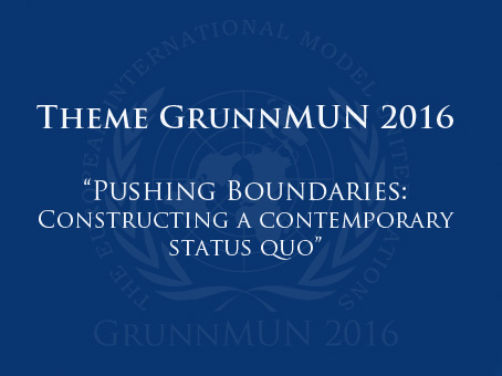 Theme announcement GrunnMUN